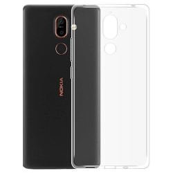 Colorfone Nokia 7 Plus Skal (Transparent) Transparent