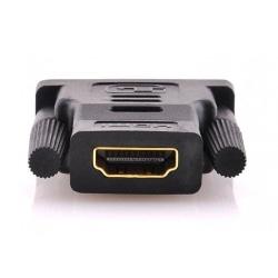 DVI - HDMI Adapter (Svart) Svart