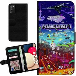 Samsung Galaxy A02s Billigt Fodral MineCraft