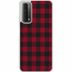 Huawei P Smart (2021) Soft Case (Frostad) Checkered Flannel