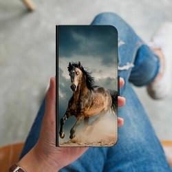 Samsung Galaxy A12 Plånboksskal Häst