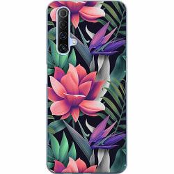 Realme X50 Mjukt skal - Blommor