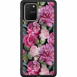 Samsung Galaxy S10 Lite (2020) Soft Case (Svart) Purple Florals
