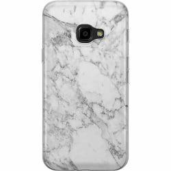 Samsung Galaxy XCover 4 Mjukt skal - Marmor Vit