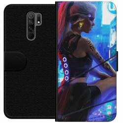Xiaomi Redmi 9 Wallet Case Cyberpunk 2077