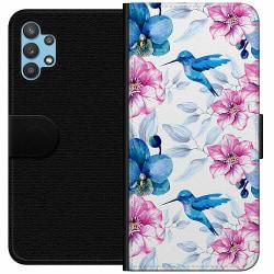 Samsung Galaxy A32 5G Wallet Case Blommor