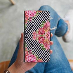Huawei P Smart Z Plånboksskal Blommor