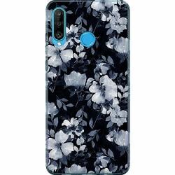 Huawei P30 Lite Mjukt skal - Blommor