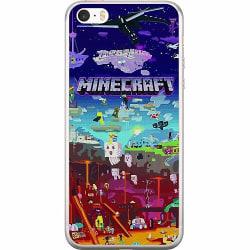 Apple iPhone 5 / 5s / SE Mjukt skal - MineCraft