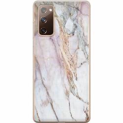 Samsung Galaxy S20 FE Mjukt skal - Marmor