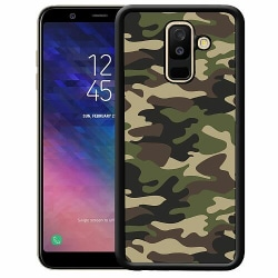 Samsung Galaxy A6 Plus (2018) Soft Case (Svart) Military
