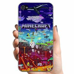 Apple iPhone 4 / 4s TPU Mobilskal MineCraft