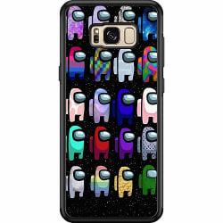 Samsung Galaxy S8 Plus Soft Case (Svart) Among Us 2021