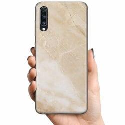 Samsung Galaxy A70 TPU Mobilskal More Marble