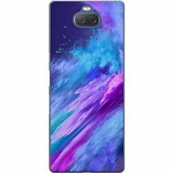 Sony Xperia 10 Thin Case Crashing Purples