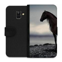 Samsung Galaxy A6 (2018) Wallet Case Häst / Horse