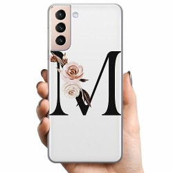 Samsung Galaxy S21+ TPU Mobilskal Bokstäver