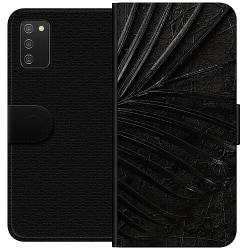 Samsung Galaxy A02s Wallet Case Charcoal Ash