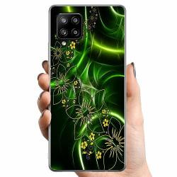 Samsung Galaxy A42 5G TPU Mobilskal Blommor