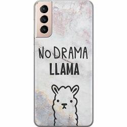 Samsung Galaxy S21 Thin Case Llama Marble