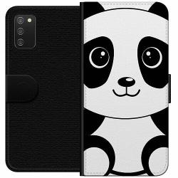 Samsung Galaxy A02s Wallet Case Panda