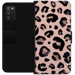 Samsung Galaxy A02s Wallet Case Pretty Leo