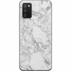 Samsung Galaxy A02s Mjukt skal - Marmor Vit