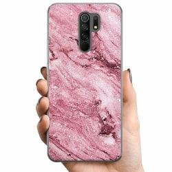 Xiaomi Redmi 9 TPU Mobilskal Glitter Marble