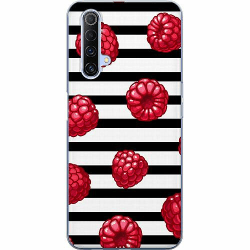 Realme X50 Mjukt skal - Raspberries