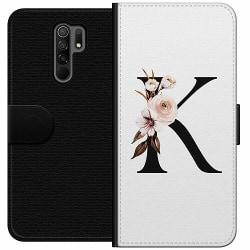 Xiaomi Redmi 9 Wallet Case Bokstäver