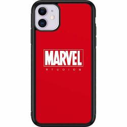 Apple iPhone 11 Soft Case (Svart) Marvel