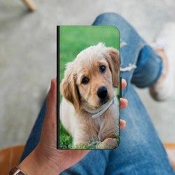 Apple iPhone X / XS Plånboksskal Hund