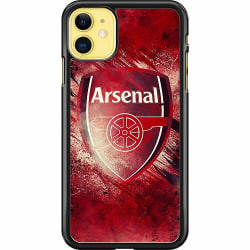Apple iPhone 11 Hard Case (Svart) Arsenal Football