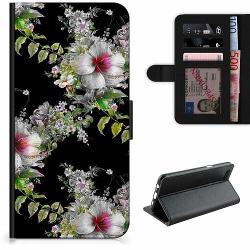 Samsung Galaxy A50 Lyxigt Fodral Blommor