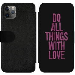 Apple iPhone 11 Pro Max Wallet Slim Case Do All Things With Love