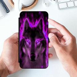 Huawei P40 Lite Slimmat Fodral Statement Wolf 1055