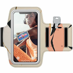 Sony Xperia E1 Träningsarmband / Sportarmband -  Beiges B