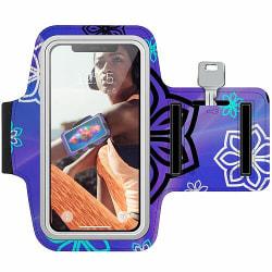 Sony Xperia U Träningsarmband / Sportarmband -  Flower on LCD