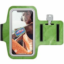 Sony Xperia L2 Träningsarmband / Sportarmband -  Folded Greenery