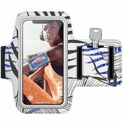 Sony Xperia L2 Träningsarmband / Sportarmband -  Mainly White