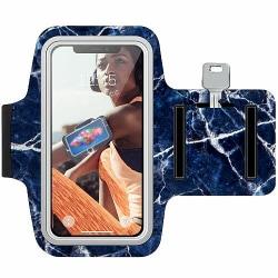 Samsung Galaxy A40 Träningsarmband / Sportarmband -  Marbles x2