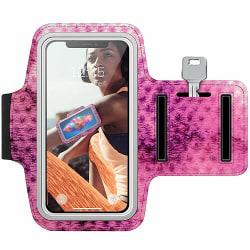 Nokia Lumia 1020 Träningsarmband / Sportarmband -  Purple Dots