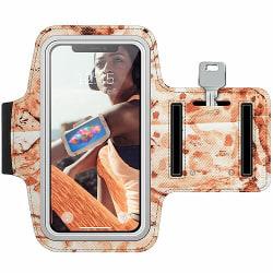 Huawei P9 Plus Träningsarmband / Sportarmband -  Red On Fabrics