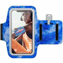 Huawei Y6 (2018) Träningsarmband / Sportarmband -  Spilled Blues