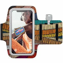 Nokia 7 Plus Träningsarmband / Sportarmband -  Stitched Waves