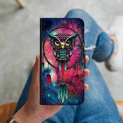 Huawei P Smart (2018) Plånboksskal Galaxy Uggla