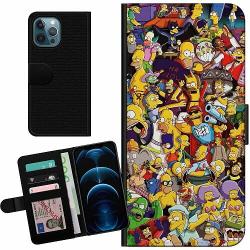 Apple iPhone 12 Pro Billigt Fodral Simpsons