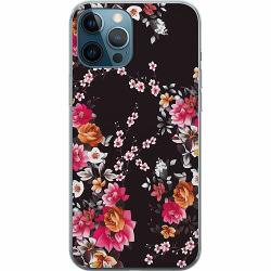 Apple iPhone 12 Pro Mjukt skal - Flower Splash