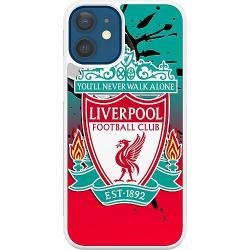 Apple iPhone 12 Soft Case (Vit) Liverpool