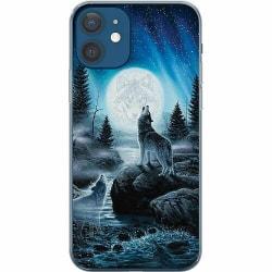Apple iPhone 12 Mjukt skal - Wolf / Varg
